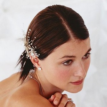 birdesmaid updo with beautiful hair clip.jpg