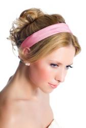 cute bridesmaid updo with pink head band.jpg