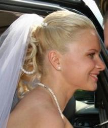 blonde curly wedding hair with bride cli[.jpg