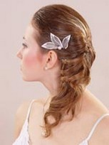 low half updo wedding hair with clip.pg.jpg