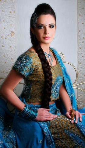 hairstyles for indian brides. Asian Indian bride hair.jpg