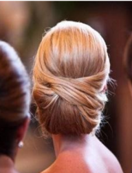 Crisscrossed bun wedding hairstyle_2012 wedding updo pictures