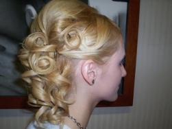 trendy bride updo picture