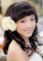 Asian long wedding hair with long bangs.PNG