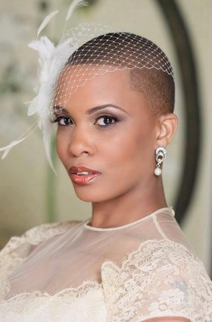 Black Women with Bald Hairstyles
