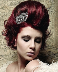 Red wedding hairstyle with hair clip.PNG