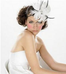 trendy wedding hairstyle with dramatic hair clip.jpg