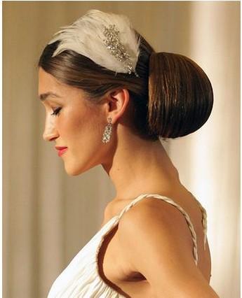 Elegant Wedding Hairstyles on Elegant Bridal Hairstyle 2009 Jpg