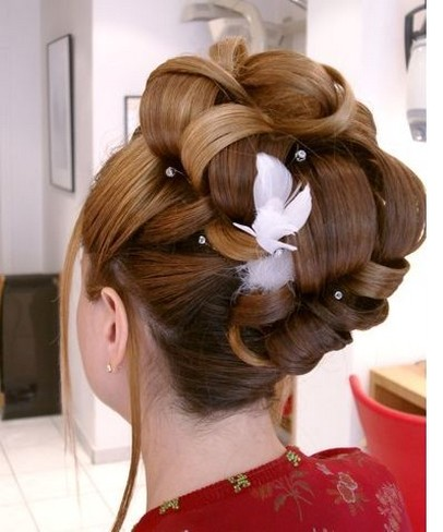 Big Bridal Hairstyle Updo With Hairclip Jpg 1 Comment