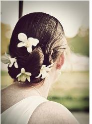 beach bridal updo picture with fresh flowers and hairstyle with low do.jpg