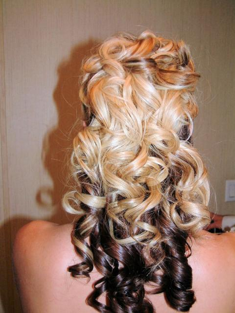 curly updo hairstyles for weddings. curly wedding hairstyle updo.
