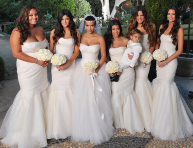 Kim Kardashian Wedding Photos Png