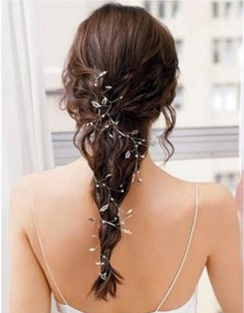 I love Hairstyles Simple+wedding+hairdo+picture