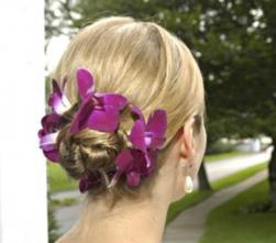 wedding hairstyle with colorful flowers.jpg