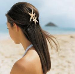 beach bridal hairstyle with star fish hair clips.jpg