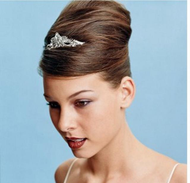 Fashion Wedding Hairstyle With High Up Style Updojpg HiRes P HD - Wedding hairstyle upstyle