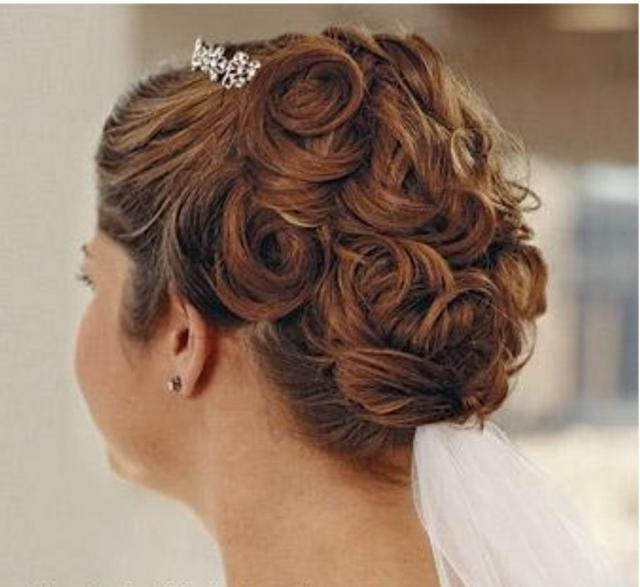 Wedding Hairstyle Roll: Pic Of Wedding Hairstyle With Rolls.jpg Hi-Res 720p HD