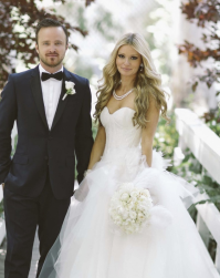 Aaron Paul and Lauren Parsekian wedding photos.PNG