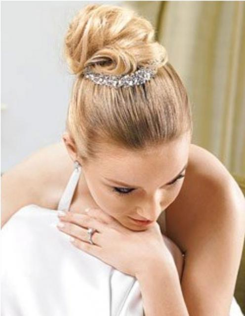 Bride Updo Hairstyles. classic ride updo hairstyle
