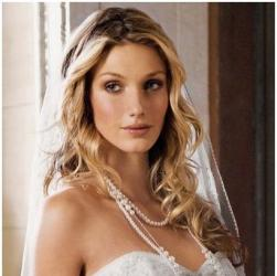 sexy long wavy wedding hairstyle down hairdo.jpg