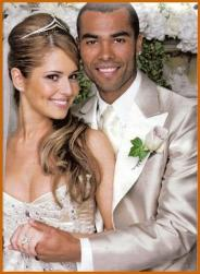 Celebrity wedding photo of Heryl Tweedy and Ashley Cole.jpg