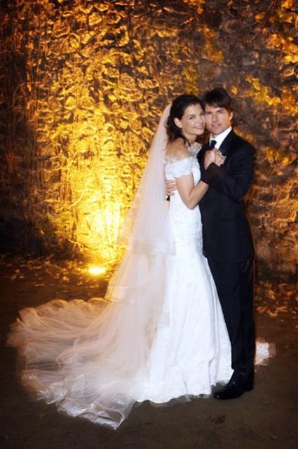 katie holmes wedding. Katie Holmes and Tom Cruise