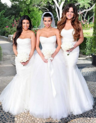 Kardashian sisters wedding pictures.PNG