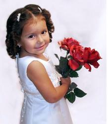 curly flower girl hairstyle with crystal hair clips.jpg