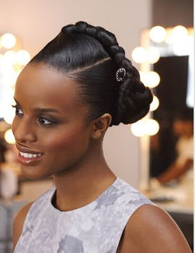 Braided updo for black women hairstyle pictures.JPG