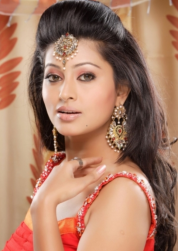 Modern Indian bride wedding hairstyle photos.PNG