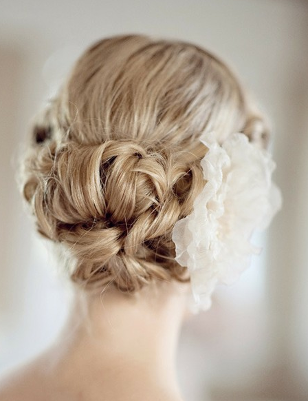 Fabulous 2014 Modern Updo Hairstyles For Wedding With Large Floral Hair Schematic Wiring Diagrams Phreekkolirunnerswayorg