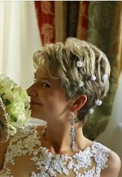 Wedding Hairstyles  For Mature Brides Gallery
