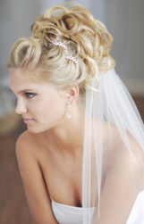Wedding curly updo with beautiful crystal hairclips and veil.PNG
