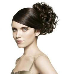 Elegant bridesmaid updo with curls photos.JPG