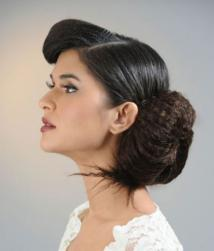 Low updo wedding hairstyle.JPG