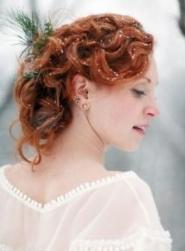 Red curly wedding hairstyle with large curls with.JPG
