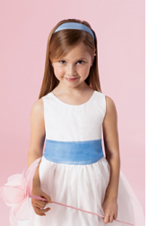 Cute flower girl simple hair do with blue headband.PNG