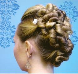 Wedding hair do with small twists.JPG