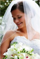 Simple classic wedding hairdo with pretty veil.JPG