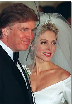 Donald and Ivana Trump wedding images.PNG