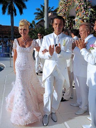 Ivana Trump wedding with her husband Rossano Rubicondi.PNG