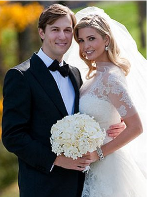 Ivanka Trump wedding pictures with Jared Kushner.PNG