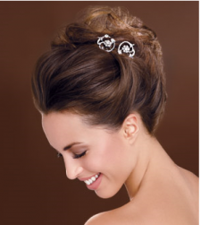 Soft wedding updo hairstyle with crystal hairclips.PNG