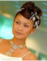 Asian bridal hairstyle with beautiful crystal hair clips photos.PNG