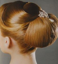 wedding hairstyle upsweep