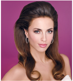 Long Sculpted wedding hairstyle with long bang pulled to the back.PNG