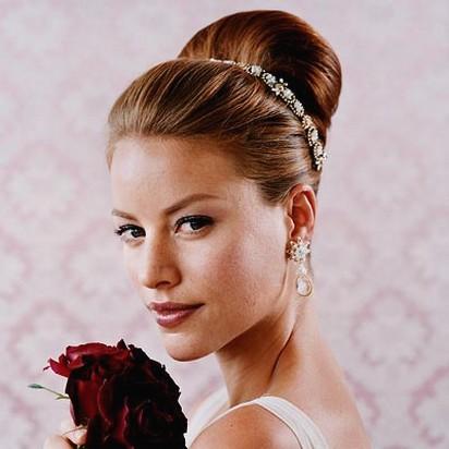 Wedding Updo Hairstyles on Wedding Elegant Updo Hairstyle