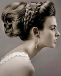 Fancy wedding hairstyle with elegant updo with braids.PNG