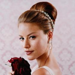 wedding elegant updo hairstyle
