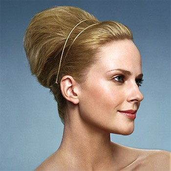 simple wedding hairstyle with style